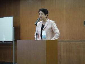 石川牧子さんの特別講演