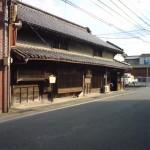 街道の古い町並み